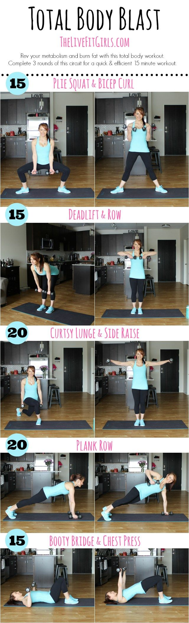 Compound exercise moves. (Ignore the clickbait-y fitness language from this site; the printable is the only decent part.)