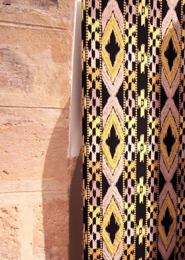 New ikat fabric by Gaston y Daniela