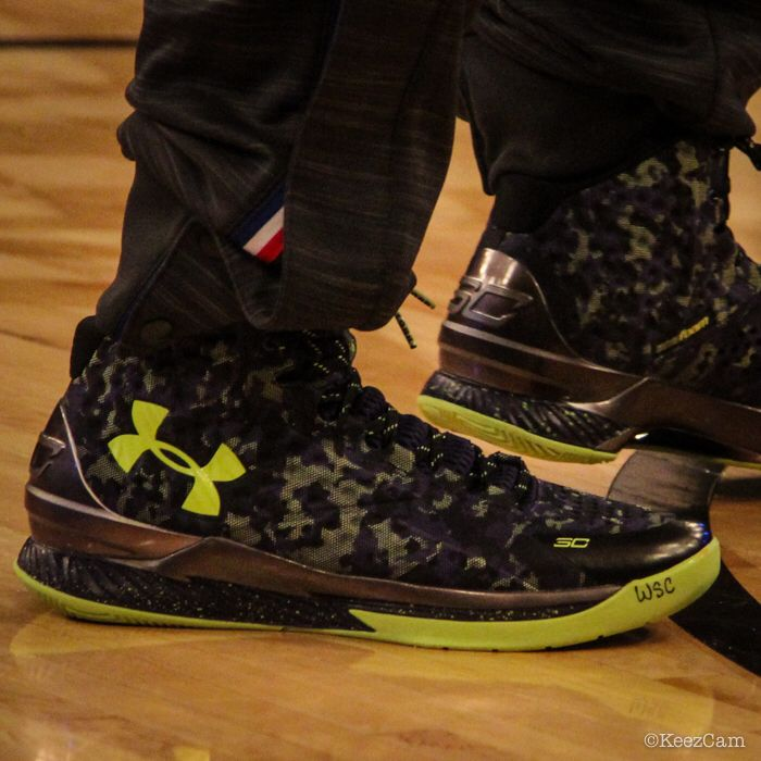 Stephen Curry just launched his new shoes during the NBA All-Star weekend
