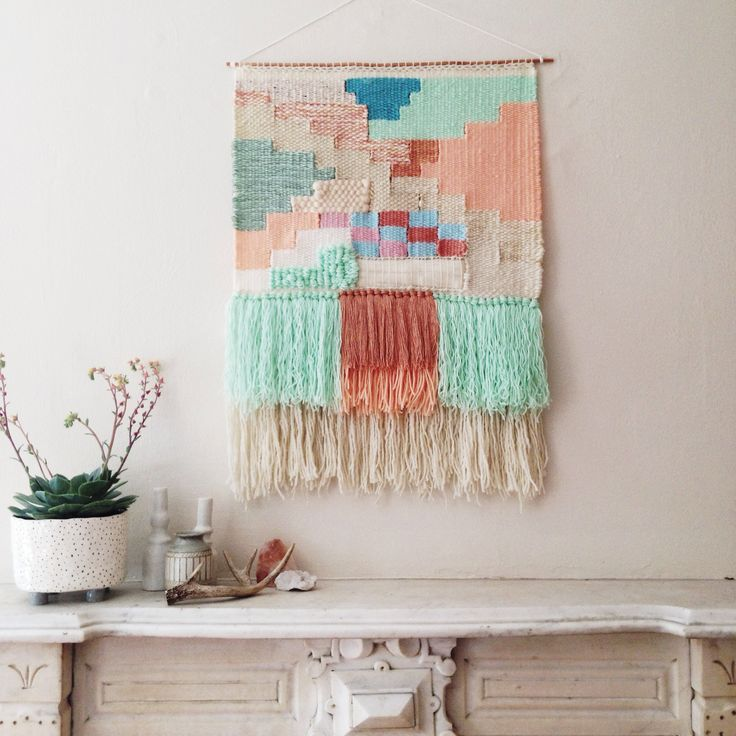 Weaving woven wall hanging by Maryanne Moodie                              …