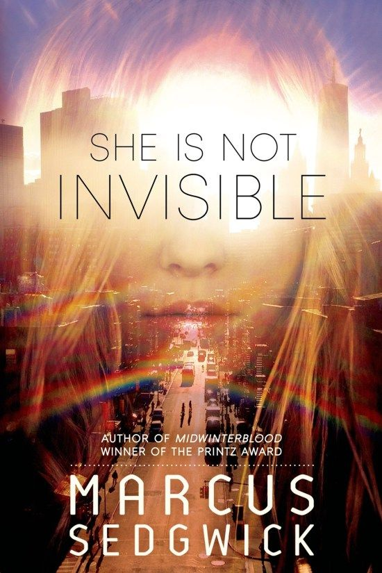 Breathtaking Book Cover: She Is Not Invisible