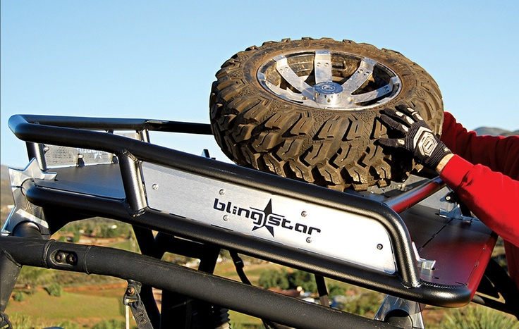 This Blingstar Roof Rack For Can Am Commander Maverick