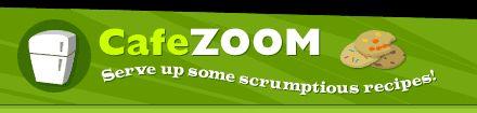 Cafe Zoom - Website for children's recipes