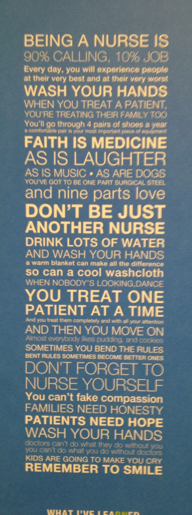 Even though I'm not a nurse, some of this totally applies to social workers as well :)
