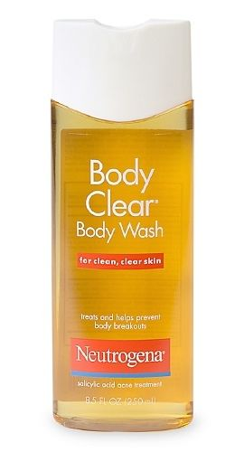Wash your chest and back with an anti-acne wash, like Neutrogena Body Clear Body Wash. // #Skincare