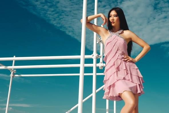 Mini abito a balze in georgette #rosa #pink #coktaildress #fashion #dress #aperitivo #fashionista #beautiful #woman @pinkpower200