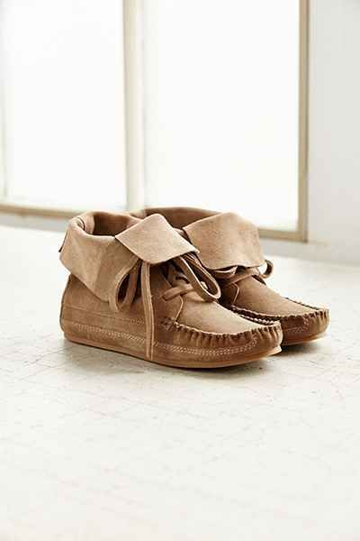 Moccasin Ankle Boot