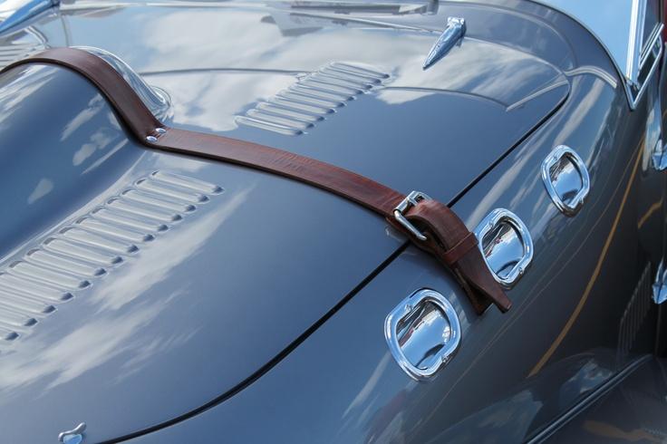 50's Allard bonnet straps and proper ports