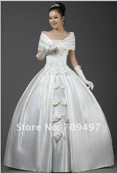 Wedding Dresses Dress Por Hot Baby Arm Fat Mm Preferred In