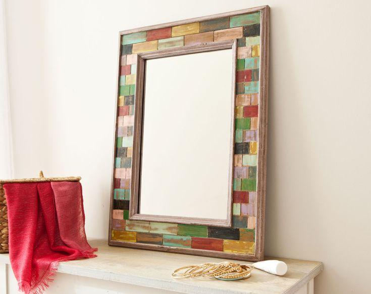 78 best id es propos de miroirs de salle de bain for Encadrement miroir