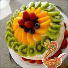 Торты фруктовые киев