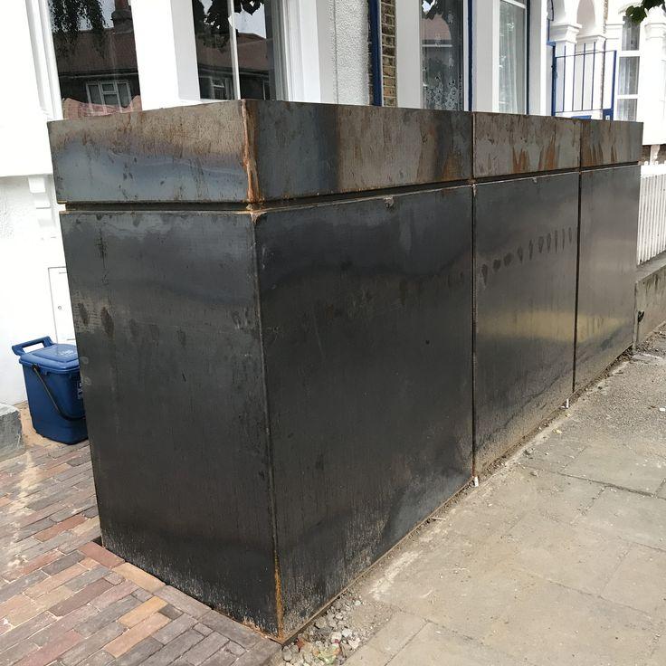 https://flic.kr/s/aHsm4DPJXQ   Bikebox.London   Bespoke storage for the Victorian Terrace.  It's a London thing.