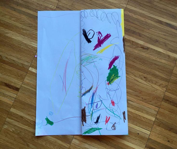 Kinderzeichnungen zu Büchern binden – Daniela Schrön