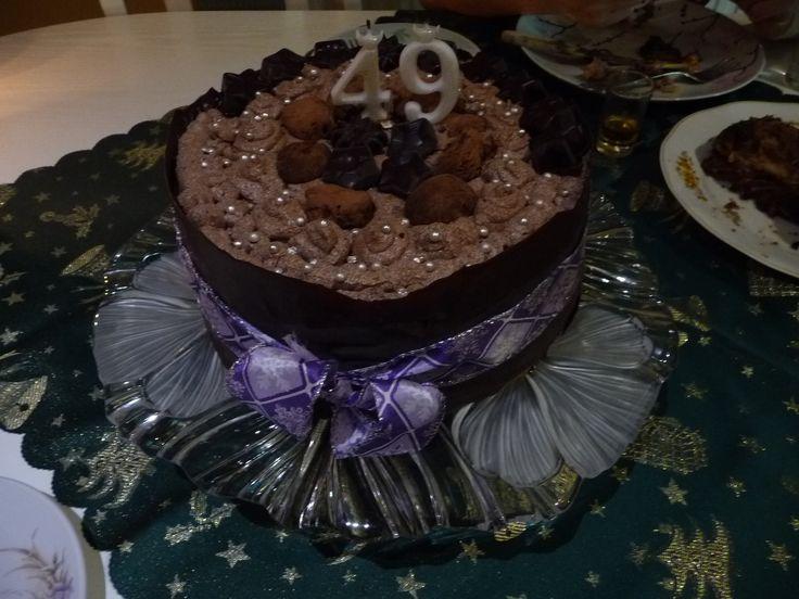 Chocolate cake to my father