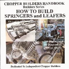Build Your Own Old School Chopper/Bobber Springer - Parts to Save Time, Money and Frustration: Complete Kits with Plans, Rockers, Trees, Choppers, Kits, Plans Ball Bearing Timken Steering Stems