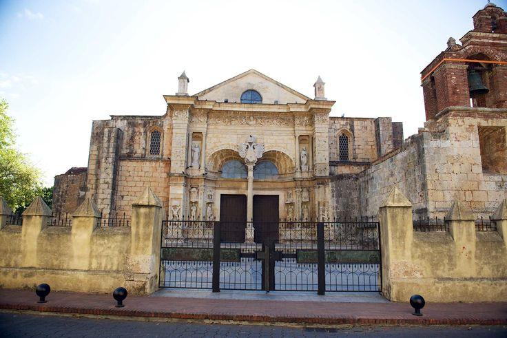 "Catedral Primada de America the oldest church in the ""New World."""