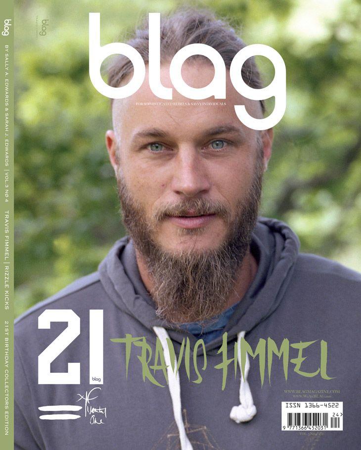 Ex #Calvin Klein Model Now #VIKINGS Actor #Travis Fimmel for Blag Magazine