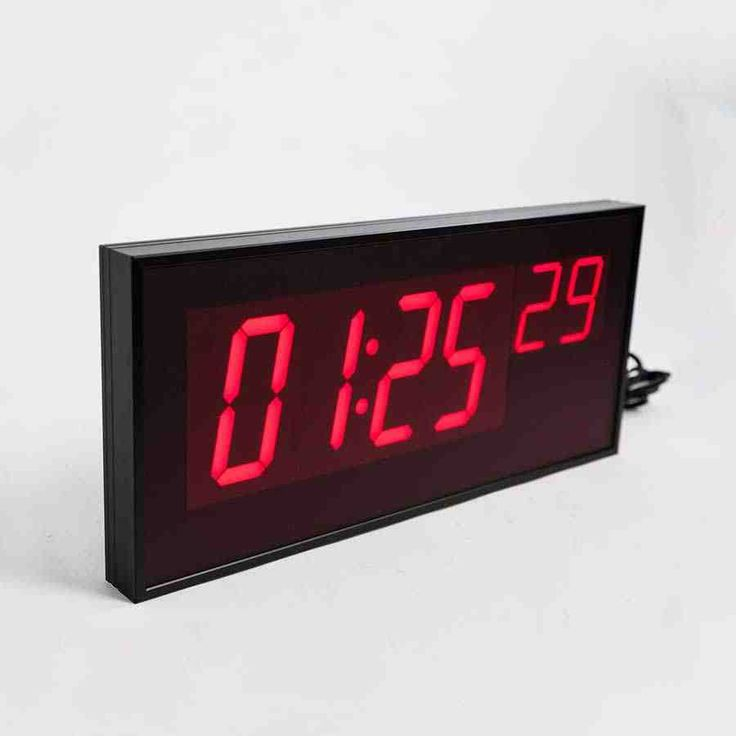 The 43 best digital wall clock images on pinterest digital wall red digital wall clock gumiabroncs Choice Image
