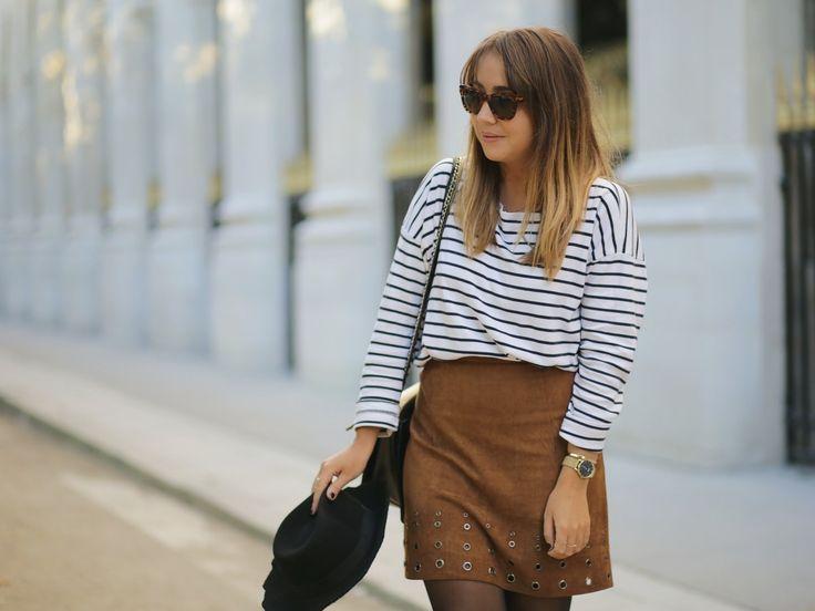La pépite #mode du mois de Du style, Madame ! ? Cette petite #jupe en #daim à #oeillets pour 12€ à #babou