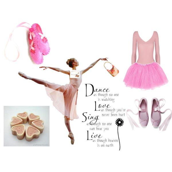 """pink dance"" by bditka on Polyvore"