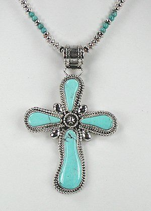 Image detail for -... Native American Indian Jewelry; Navajo Sterling Silver turquoise cross