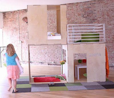 modular eco-friendly indoor/outdoor playhouses