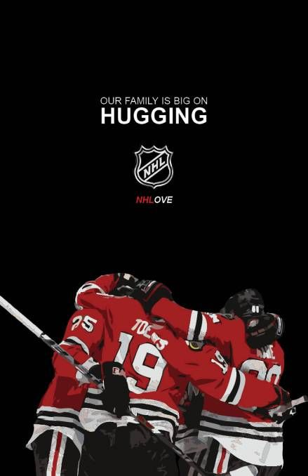 I love this picture! Chicago Blackhawks