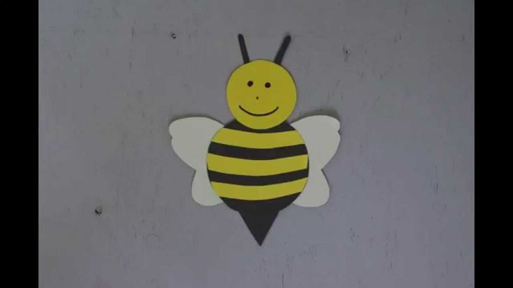 Bumble Bee Craft - Daisy At Home
