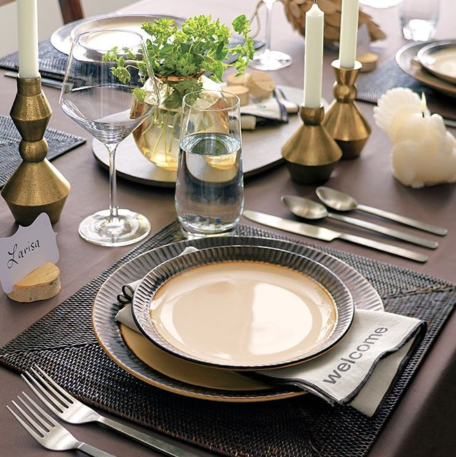 Set The Table With 20 Off At Crate Barrel Dinnerware