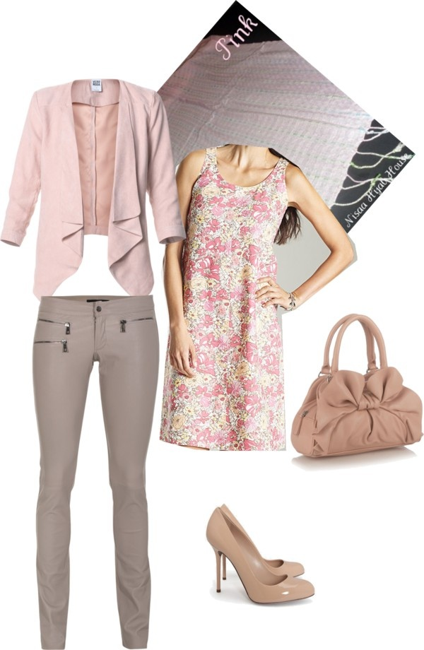 """pastel hijab"" by sanaa-muneer on Polyvore"
