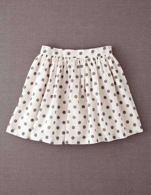 I've spotted this @BodenClothing Printed Skirt Dove/Mid Grey Spot