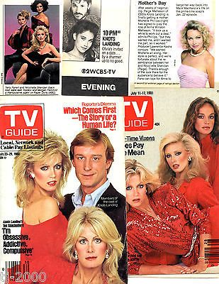 Knots Landing CBS TV Show Original Vintage clipping Lot 100 Pieces Ads Et | eBay