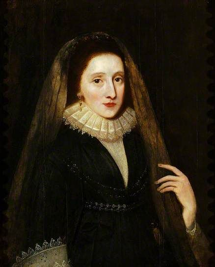 Lady of the Boleyn Family  (possibly Mary Boleyn) by Antonis Mor (attributed to)   Oil on panel, 76 x 62 cm  Collection: Colchester and Ipswich Museums Service