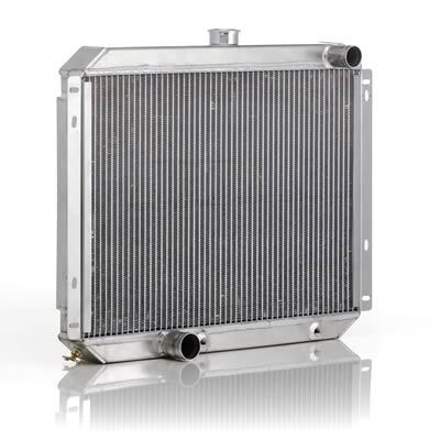 Find Be Cool Custom-Fit Aluminum Radiators 60266 and get Free Shipping on Orders Over $99 at Summit Racing!  Do you want cooling improvement and performance? During a test, a Be Cool aluminum radiator was installed in a 1955 Chevy in about an hour and lowered its operating temperature from 220 degrees to 180 degrees F--even with the air conditioning going full-blast. Be Cool custom-fit aluminum radiators are designed to be a direct fit, and they feature 15 percent more cooling capacity than…