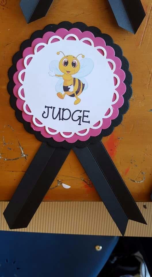 Gafete juez bee                                                       …