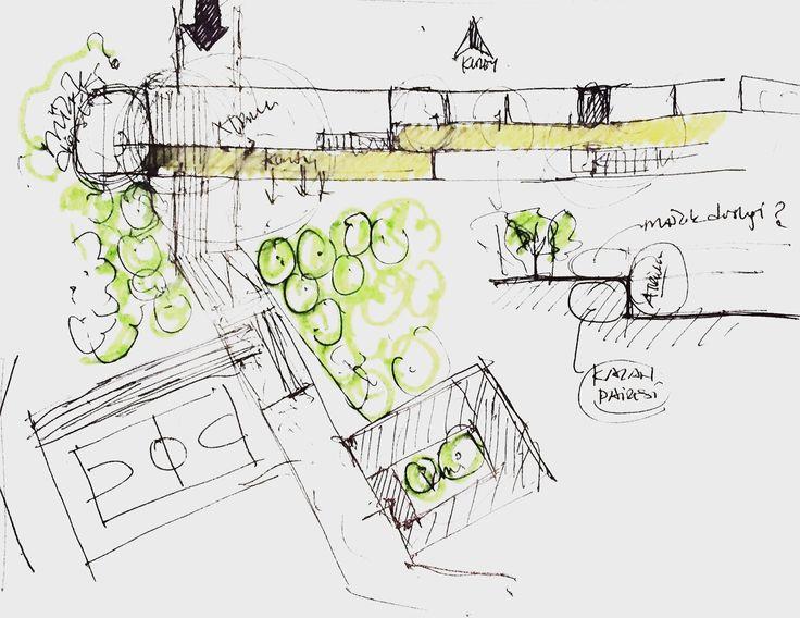 sketch for a school