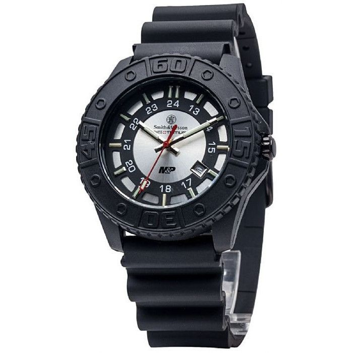Smith & Wesson Military and Police Watch - Silver