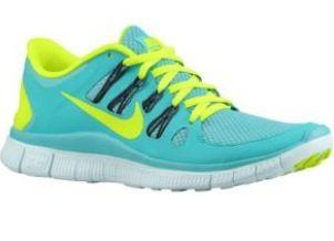 Nike free run 5.0 aqua