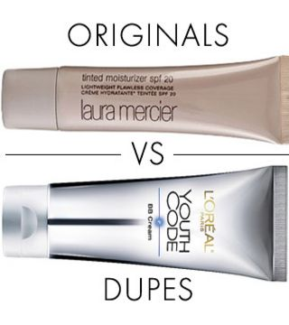 It was a backstage staple at Fashion Week and it's a celebrity favorite, but Laura Mercier Tinted Moisturizer ($42, Lauramercier.com) tends to be on the pricier side. After trying L'Oréal Paris Youth Code BB Cream ($16.99, Ulta.com), we'd say it's a pretty close match. Makeup dupes