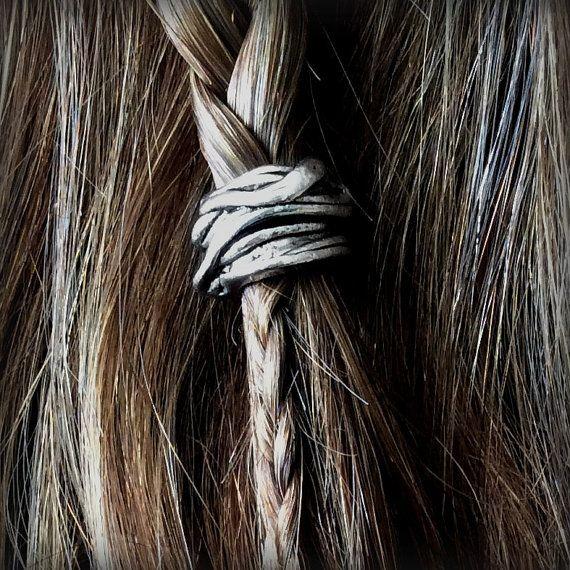 Kit de billes de cheveux Viking « Skald » perle argent cheveux perle viking  bijoux celtique