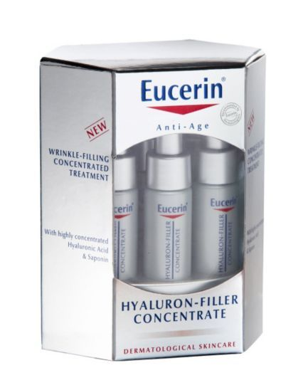 Eucerin Hyaluron Filler Concentrate 6x5ml - Boots
