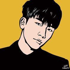 Fanart Seungri Big Bang daesung taeyang t.o.p g-dragon bigbang vip