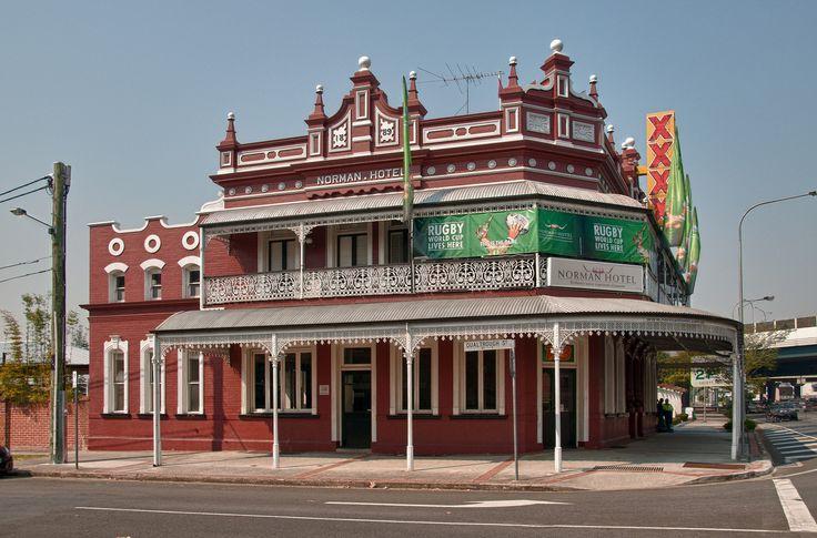Norman Hotel, Woolloongabba  Brisbane, Queensland, Australia  yourbrisbanepastandpresent.com