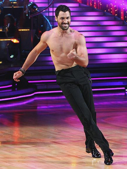 Maks!!!!! I don't care if he's straight or not. He's nice to look at