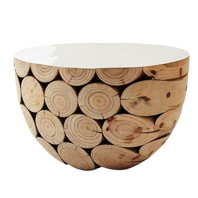 MARK TUCKEY big log side table