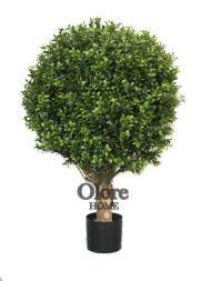 Artificial Boxwood Ball Tree 50cm - Artificial Tree