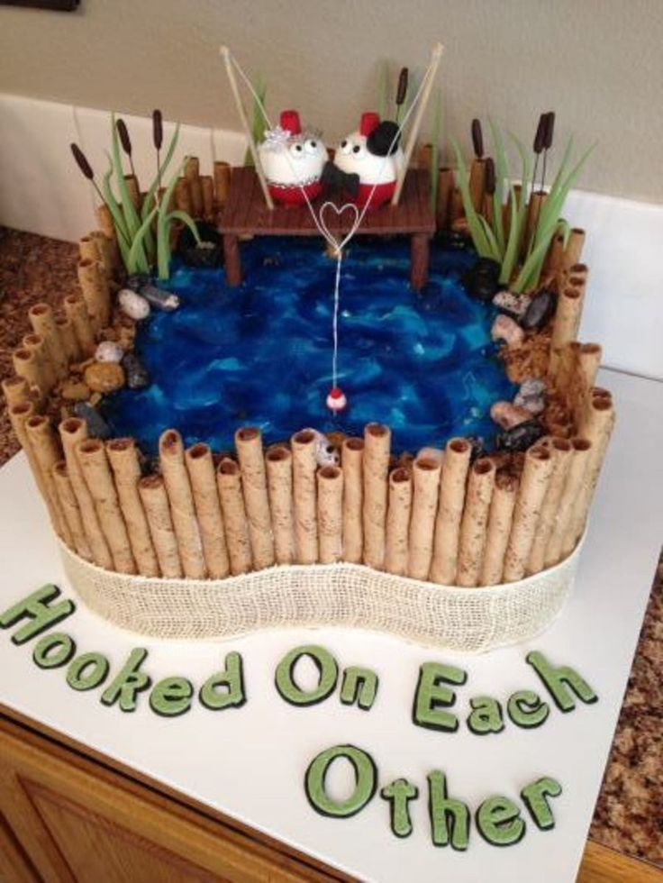 Fishing Groom's Cake For Our Son on Cake Central