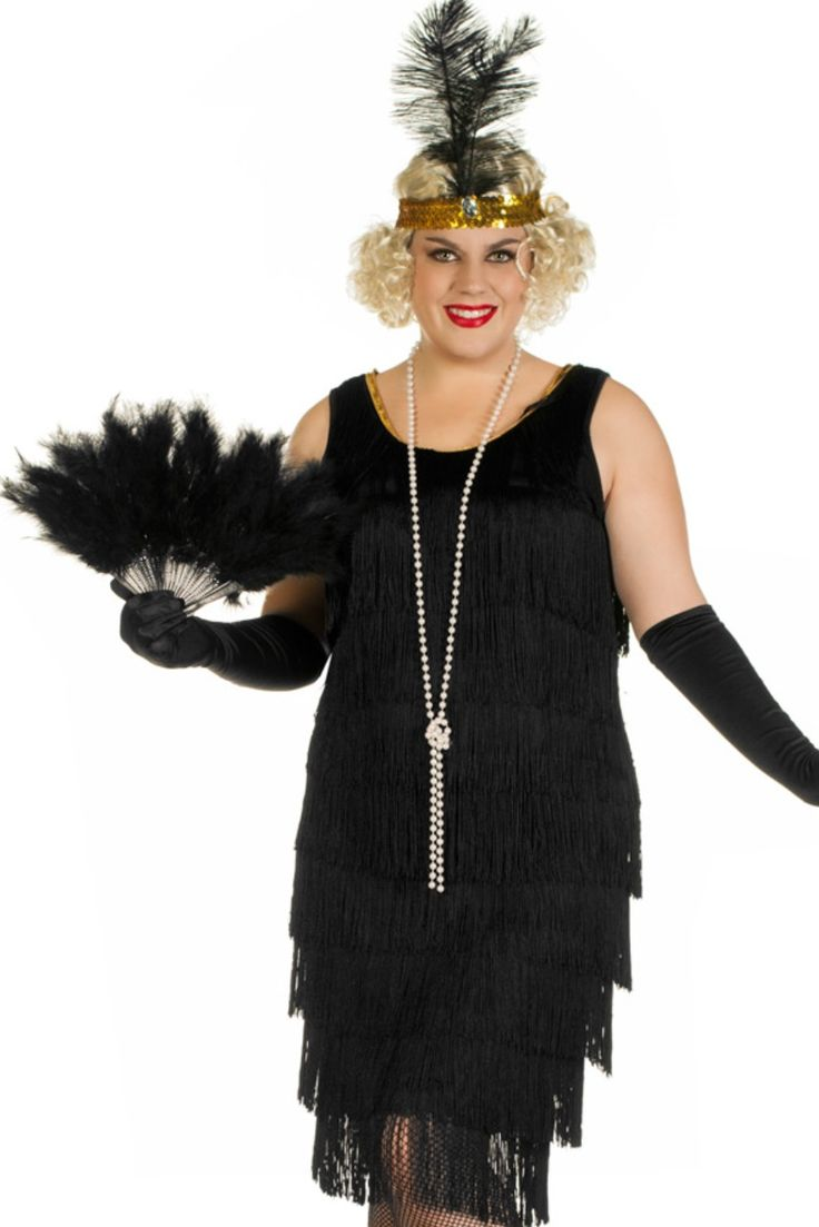 Gatsby Party Black Plus Size Costume Http Www