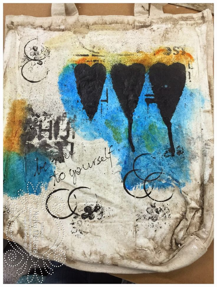 Stamp with Melva: Finished Projects - Mixed Media