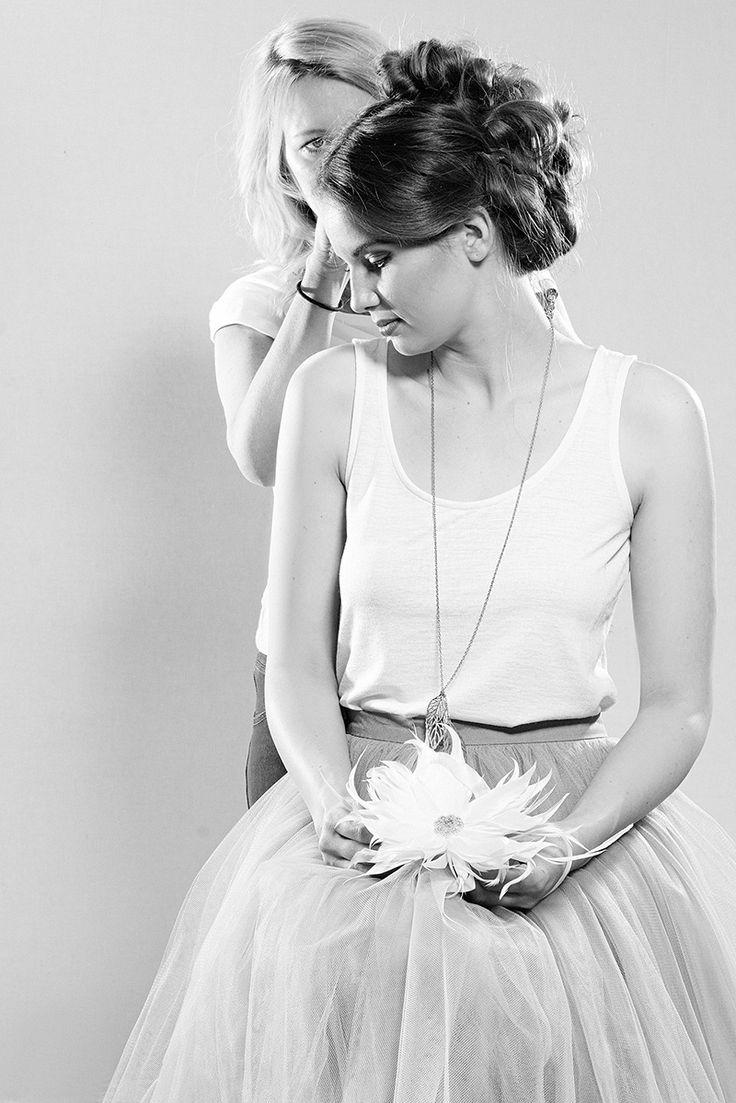 Fascynatoria - WOMEN, FASHION, HATS: Kulisy ślubnej sesji fotograficznej, czyli co się działo na backstage'u